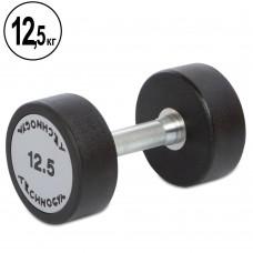 Гантель цілісна професійна TechnoGym1х12,5 кг, код: TG-1834-12_5