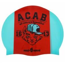 Шапочка для плавання MadWave A.C.A.B, код: M055823000W-S52