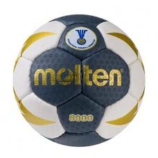 М'яч гандбольний Molten 8000 №0 синій, код: MLT8000-0B-WS