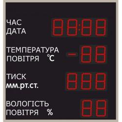 Метеостанція LedPlay (650х700), код: MT1002