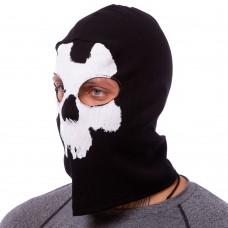 Підшоломник балаклава Tactical Mastermind чорний-білий, код: MS-4825-4-S52
