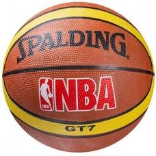 Мяч баскетбольный резиновый Spalding №7, код: 607/8-WS