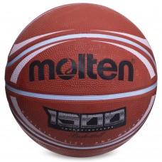 М'яч баскетбольний Molten гумовий №7, помаранчевий, код: B7RD-1500BRW-S52