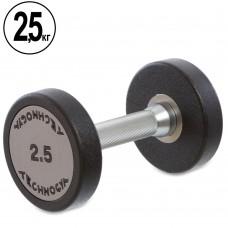 Гантель цілісна професійна TechnoGym 1х2,5 кг, код: TG-1834-2_5