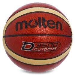 М'яч баскетбольний Molten Composite Leather №7, код: B7D3500-S52