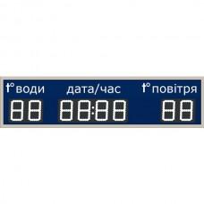 Табло для басейну LedPlay (1000х250), код: CHB1001