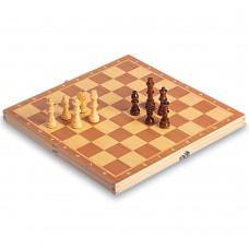 Шахи настільна гра дерев'яні на магнітах ChessTour 340x340 мм, код: W6703