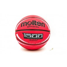 М'яч баскетбольний Molten гумовий №7, червоний, код: B7RD-1500WRW-S52