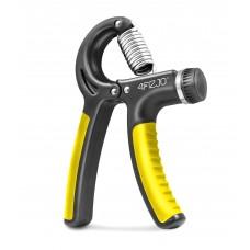 Еспандер кистьовий пружинний з регульованим навантаженням 4Fizjo Black/Yellow 10-40 кг, код: 4FJ0160