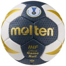 М'яч гандбольний Molten 8000 №2 синій, код: MLT8000-2B-WS