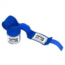 Бинти для боксу Power System Blue 4 м, код: PS-3404_Blue