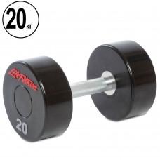 Гантель цілісна професійна Life Fitness 1х20 кг, код: SC-80081-20