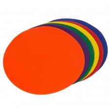 Набір плоских кіл-маркерів для розмітки PlayGame 6 шт, код: C-1408