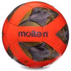 М'яч футбольний Molten №5 помаранчевий, код: F5A1711-O-S52