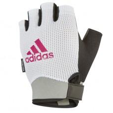 Рукавички для фітнесу Adidas L білий, код: ADGB-13245