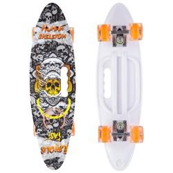 Скейтборд круізер пластиковий з світяться колесами PLAYBABY 600x170 мм, код: SK-885-4