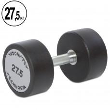 Гантель цілісна професійна TechnoGym 1х27,5 кг, код: TG-1834-27_5