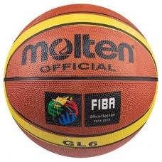 М'яч баскетбольний гумовий Molten №6, код: R6MLT-NBA-WS