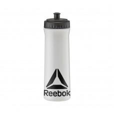 Пляшка для води Reebok сірий/чорний 0,75 л, код: RABT-11005CLBK
