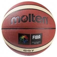 М'яч баскетбольний Molten №7, код: MTGL7/PU-WS