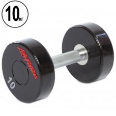 Гантель цілісна професійна Life Fitness 1х10 кг, код: SC-80081-10