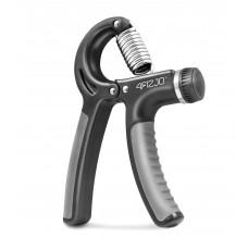 Еспандер кистьовий пружинний з регульованим навантаженням 4Fizjo Black/Grey 10-40 кг, код: 4FJ0159