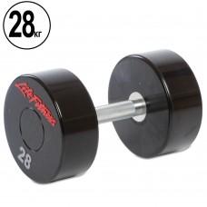 Гантель цілісна професійна Life Fitness 1х28 кг, код: SC-80081-28