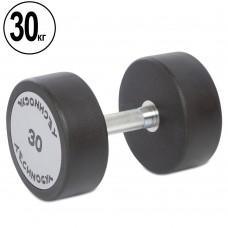 Гантель цілісна професійна TechnoGym 1х30 кг, код: TG-1834-30