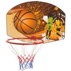 Щит баскетбольний PlayGame з кільцем D = 45см., Код: 88338-WS