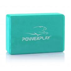 Блок для йоги PowerPlay Yoga Brick м'ятний, код: PP_4006_Mint_Yoga_Brick