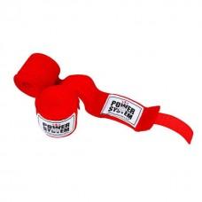 Бинти для боксу Power System Red 4 м, код: PS-3404_Red