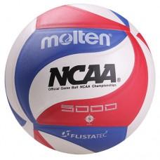М'яч волейбольний Molten 5000 PU, код: NSM5000-05211-WS