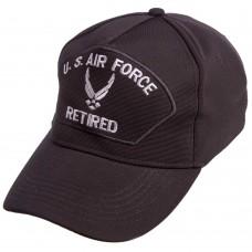 Бейсболка тактична Tactical Us Air Force чорний, код: TY-0366-S52