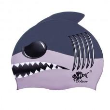 Шапочка для плавання Dolvor Shark, код: DLV-SС12-Shark
