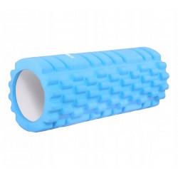 Масажний ролик Springos 330x140 мм Light Blue, код: FR0014