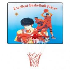 Баскетбольний щит з кільцем PlayGame 610х460 мм, код: SC-88337-WS