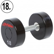 Гантель цілісна професійна Life Fitness 1х18 кг, код: SC-80081-18