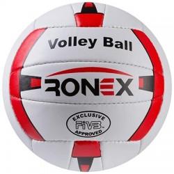 М'яч волейбольний Ronex Orignal Grippy №5 червоний /білий, код: RXV-2R-WS