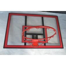 Баскетбольный щит с кольцом Vigor 1120x750 мм, код: BB001-SV