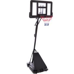 Стойка баскетбольная со щитом PlayGame Top 1100х750х3050 мм, код: S520-S52