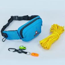 Рятувальний набір Fox40 Sup Safety Kit (сумка, канат, ліхтарик, свисток), код: 7928-1300