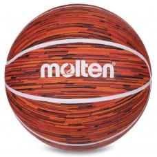 М'яч баскетбольний гумовий Molten №7, червоний, код: B7F1600-RW-S52
