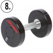 Гантель цілісна професійна Life Fitness 1х8 кг, код: SC-80081-8