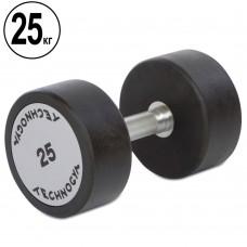 Гантель цілісна професійна TechnoGym 1х25 кг, код: TG-1834-25