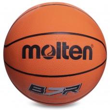 М'яч баскетбольний гумовий Molten №7 помаранчевий, код: B7R-S52