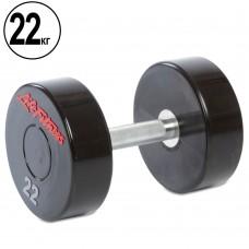 Гантель цілісна професійна Life Fitness 1х22 кг, код: SC-80081-22