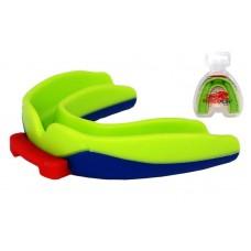 Капа боксерська PowerPlay зелено-синя, код: PP_3312_SR_Blue/Green