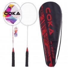 Набір для бадмінтону Coca 2 ракетки в чохлі, код: 9600-S52