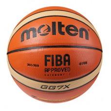 М'яч баскетбольний Molten №7, код: MTGG7/PU-WS