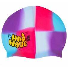 Шапочка для плавания детская MadWave Multi Junior, код: M054901-S52